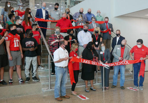 Belton ISD Officials, Community Leaders Celebrate Dedication of Area's Newest High School
