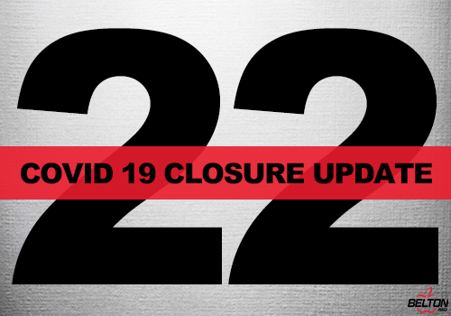 COVID-19 Closure Update 22