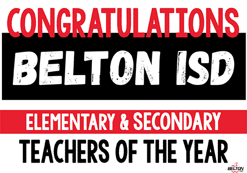 Belton ISD Announces Teachers of the Year